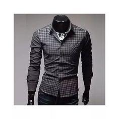 Camisa Manga Longa Social Grife  Vska  Masculina Lançamento - R$ 159,90