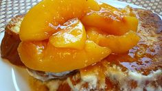 peach french toast recipe with cream cheese | Recipes / Peaches & Cream French Toast