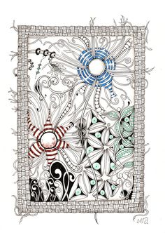 By Michelle Beauchamp, Certified Zentangle Teacher Tangle Doodle, Tangle Art, Zen Doodle, Doodle Art, Zentangle Drawings, Doodles Zentangles, Doodle Drawings, Doodle Designs, Doodle Patterns