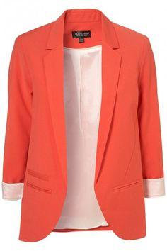 Tangerine Blazer