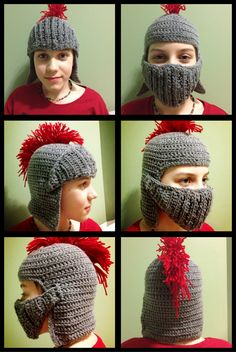 Crochet Armour Toque