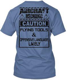Limited edition - Aircraft Mechanic   Teespring