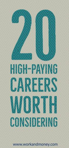 Career ideas based on a comparison of high salary data and the number of active job listings.
