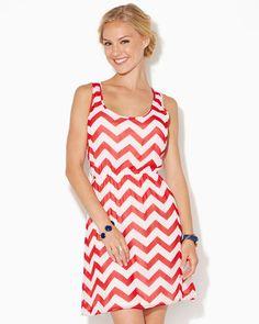 10f25db54d8c charming charlie | Chevron Essential Dress | UPC: 3000636698 # charmingcharlie Dressy Dresses, Cute
