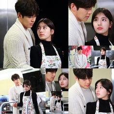 'Uncontrollably Fond' Kim Woo-bin hugs Suzy from behind