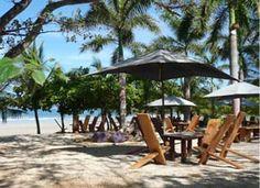 Lola's beach bar in Playa Avellanas, Costa Rica. Best beach bar ever.