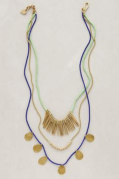 Masambu Layered Necklace - anthropologie.com #anthroregistry