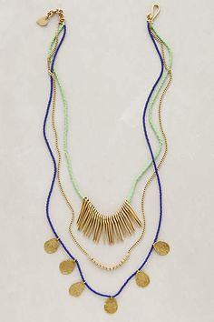 Masambu Layered Necklace - anthropologie.com