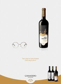 Granadeiro - design by Tomás Lacerda #wine #advertisement