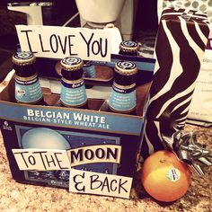 Perfect for birthdays , cute idea for boyfriend/girlfriend :), leave a reply cancel reply, images for - cute gift ideas for boyfriend just Craft Gifts, Diy Gifts, Party Gifts, Holiday Gifts, Christmas Gifts, Little Presents, My Sun And Stars, Just Because Gifts, Beer Gifts