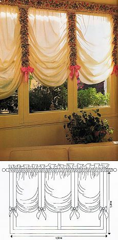 Valance Curtains, Threading, Window Treatments, Fun, Home Decor, Outdoor Shutters, Houses, Home Decoration, Manualidades
