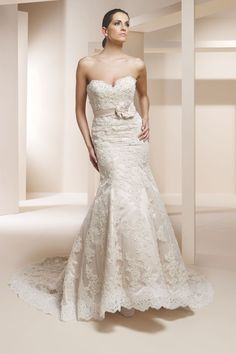 Claudine for Alyce 7829 available @ Paula's Elegant Bride