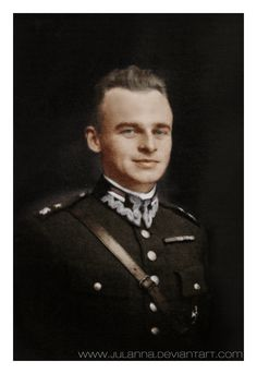 Witold Pilecki (V 13, 1901 – V 25, 1948) soldier of the II Polish Republic, the founder of the resistance group and a member of the AK (Armia Krajowa). As the author of the Witold`s report, the first intelligence report on Auschwitz concentration camp, Pilecki's operation enabled the Polish government-in-exile to convince the Allies that the Holocaust was taking place. He remained loyal to the London-based Polish government-in-exile and was executed in 1948 by the Stalinist secret police UB