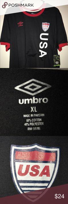 US Soccer tee shirt US Soccer Team shirt Umbro Shirts Tees - Short Sleeve