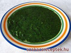 Špenát guláš s čerstvým špenátom