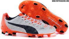 White / Orange Puma evoPOWER 1.2 2015-2016 Boots Leaked - Footy Headlines
