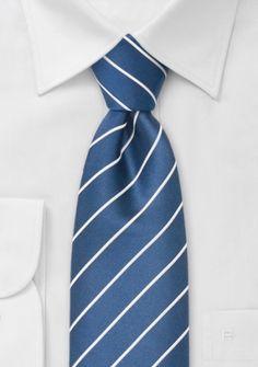 Cordoba Business-Krawatte königsblau XXL