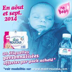 Opération Ma Baby : recevez des étiquettes personnalisées !