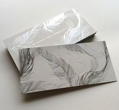 Print : Badcass - Design : Inoui - Carte de voeux en letterpress - #marquageàchaud #argent
