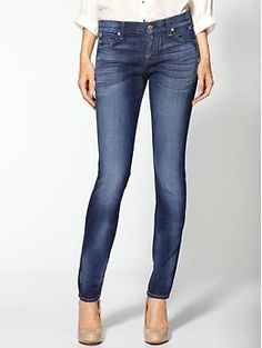 7 For All Mankind Roxanne Skinny Jeans | Piperlime