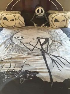 Nightmare Before Christmas Bedroom Decor Gorgeous The Nightmare Before Christmas Bedroom Decor  Webnuggetz Design Decoration