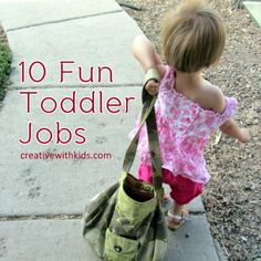 10 Fun Chores to do with Toddlers