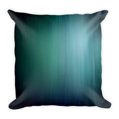 Teal For Two Throw Pillow by LesPetitsPrints on Etsy