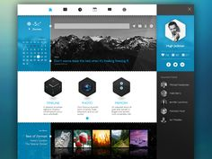 My Blog ( Concept ) by Tintins
