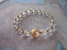 Buy Beautiful carved (golden dragon ) quartz bracelet by shynnasplace. Explore more products on http://shynnasplace.etsy.com