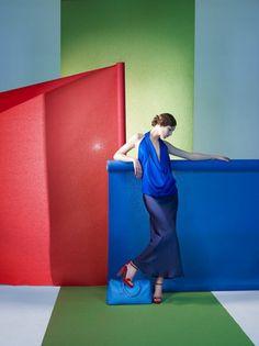 Sophie Delaporte - Photos - LES ECHOS - Color Blocks | Michele Filomeno