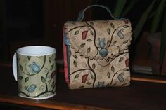 A gorgeous Mug Bag from Brigitte in France