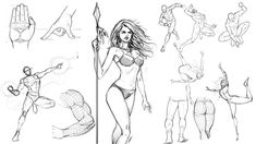 Learn how to draw the human form like a professional with these fundamental step by step techniques.