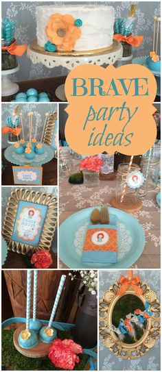 You have to see this amazing rustic Brave party! See more party ideas at CatchMyParty.com!