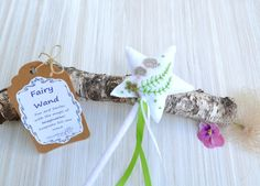 Fairy Wand  Nature and Forest Theme  Romantic Charm Princess