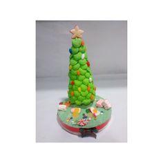 Centros de mesa de gominolas para Navidad