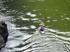 Kayak, Victoria Falls, Zimbabwe