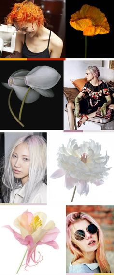 She Lets Her Hair Down: Dreamy Dreamy Hair Color References Part III