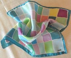 Silk Pocket Squares, Exclusive, hand painted & Hand-Rolled. www.eltallerdeseda.es Hand Roll, Pocket Squares, Hand Painted, Natural, Fashion, Silk, Pockets, Hands, Colors