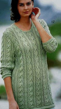 Пуловеры спицами 356. Обсуждение на LiveInternet - Российский Сервис Онлайн-Дневников