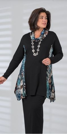 Moda Mujer Madura Outfits For 2019 Sewing Clothes, Diy Clothes, Clothes For Women, Boho Fashion, Womens Fashion, Fashion Styles, Fashion Tips, Fashion Over 50, Plus Size Outfits
