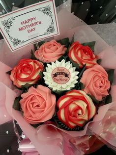 Mothers Day Bouquet, Cupcake Bouquet