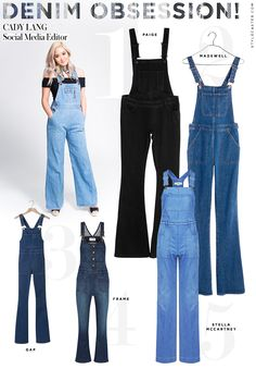 Overalls On Pinterest Black Overalls Overalls Outfit And Denim Overalls