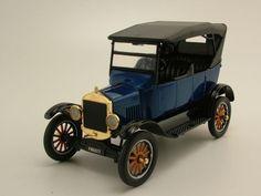 Ford Model T Touring 1925 blau metallic, Modellauto 1:24 / Motormax in…
