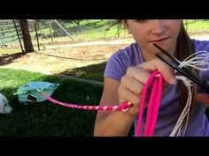How to make reins - YouTube