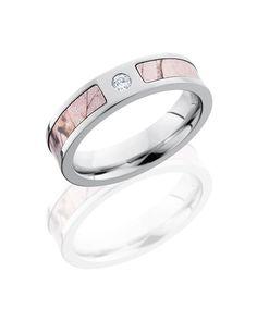 Realtree Pink Camo Engagement Ring
