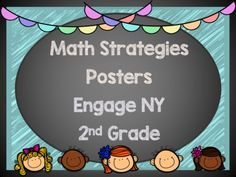 Engage NY Math Strategy Posters 2nd Grade