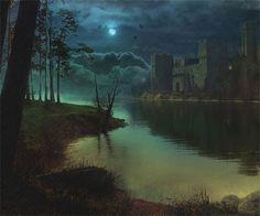 Коллаж Matte Painting. Создание ночной сцены у озера · «Мир Фотошопа»