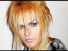 Labyrinth - Goblin King - Makeup Tutorial!