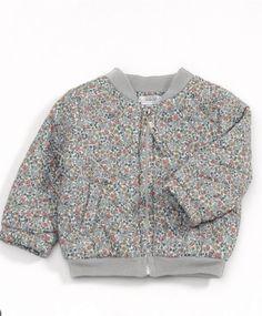 Liberty Emilia's Flower Bomber Jacket
