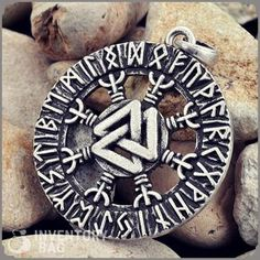Aegishjalmur Valknut Rune